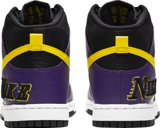 Nike Dunk High Emb Lakers Sneakers