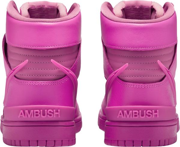 Nike Dunk High X Ambush Fuchsia Sneakers