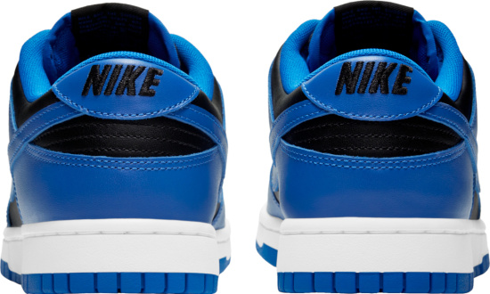 Nike Dunk Low Royal Blue And Black Sneakers