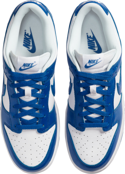 Nike Dunk Low Sp White And Blue Low Top Sneakers