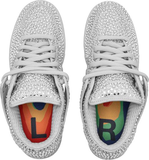 Nike Dunk Low Swarovski Crystal Embellished