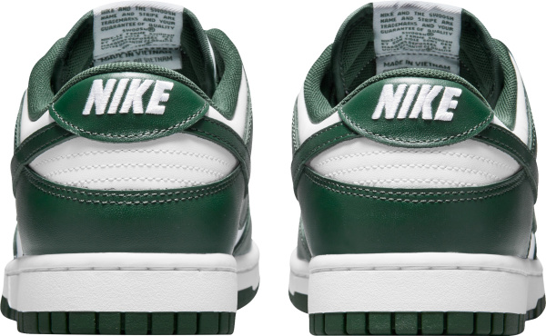 Nike Dunk Low White And Dark Green