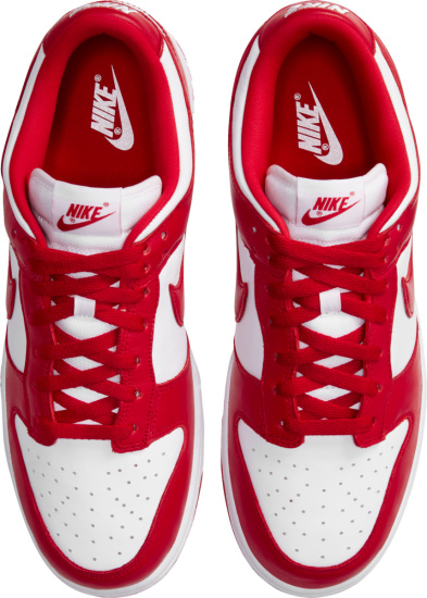 Nike Dunk Low White And Red
