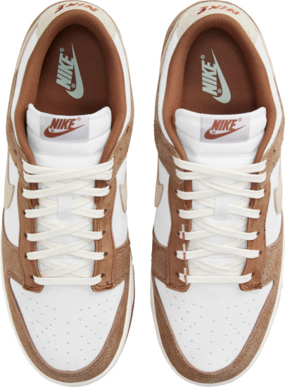 Nike Dunk Low White Light Brown And Beige