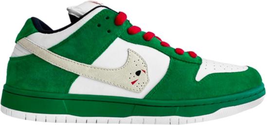 Nike Dunk Low X Warren Lotas Jason Voorhees