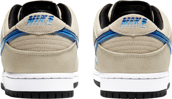 Nike Dunk Sb Low Beige Blue White Black