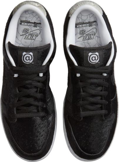 Nike Dunk Sb Low Black Fur