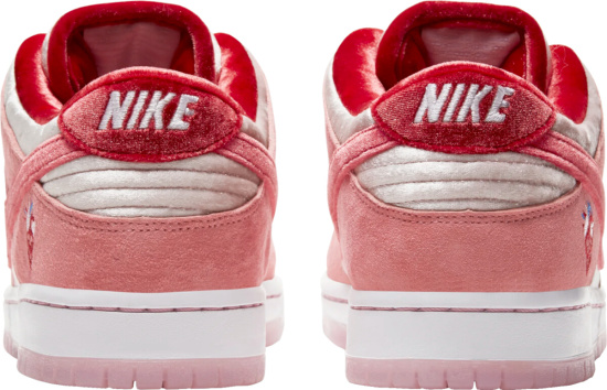 Nike Dunk Sb Low Pink Red Velvet