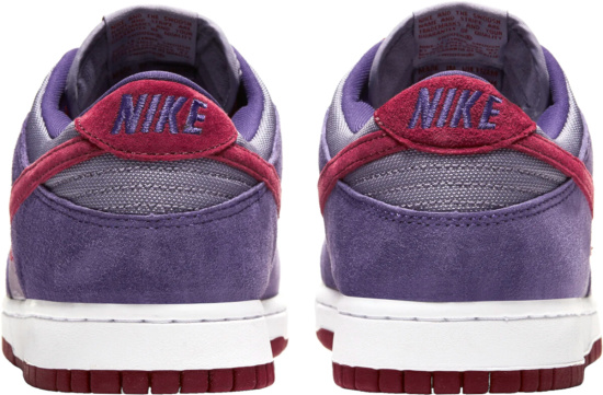 Nike Dunk Sb Low Puprle Red Suede