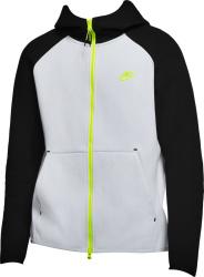 Nike Grey Black Yellow Zip Hoodie