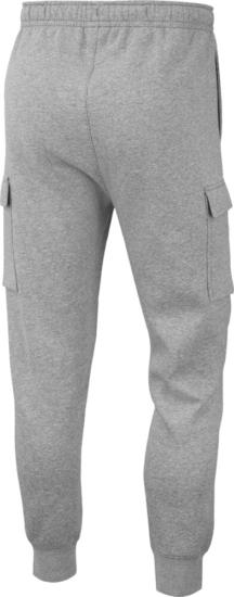 Nike Grey Cargo Sweatpants