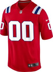 Nike New England Patriots Red Jonathan Jones 31 Jersey