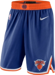 Nike New York Knicks Icon Swingmas Blue Shorts