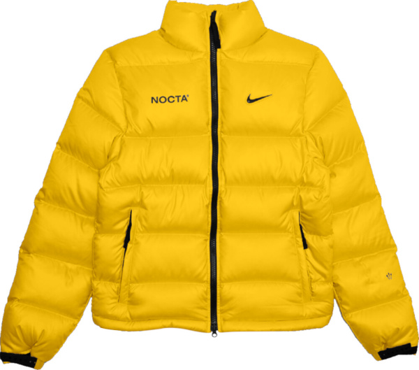 Nike Nocta Yellow Puffer Jacket