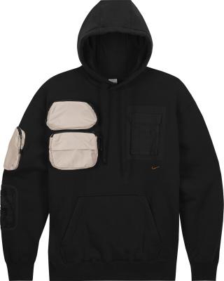 Nike Nrg Ag X Travis Scott Black Cargo Hoodie