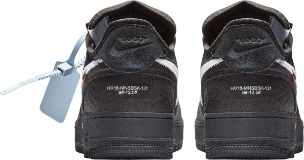 Nike Off White Black With Blue Security Tag