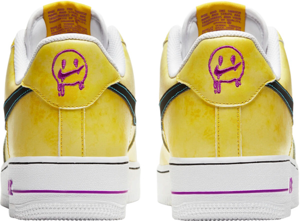 Nike Peace Love Basketball Air Force 1s