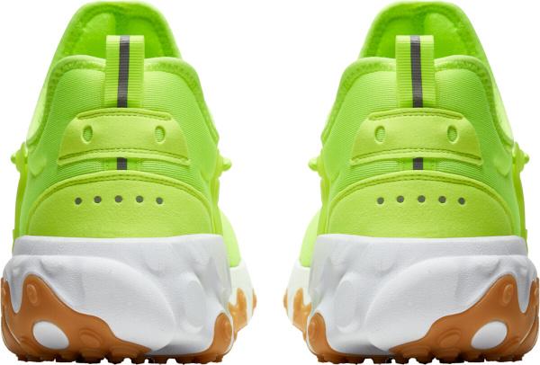 Nike React Presto Neon Yellow White Gum Sneakers