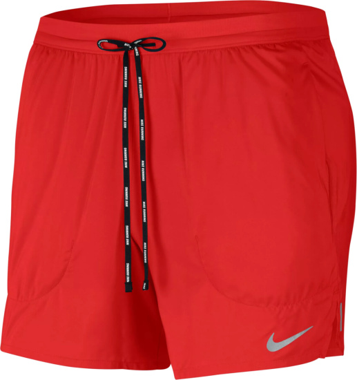 Nike Red Flex Stride Shorts