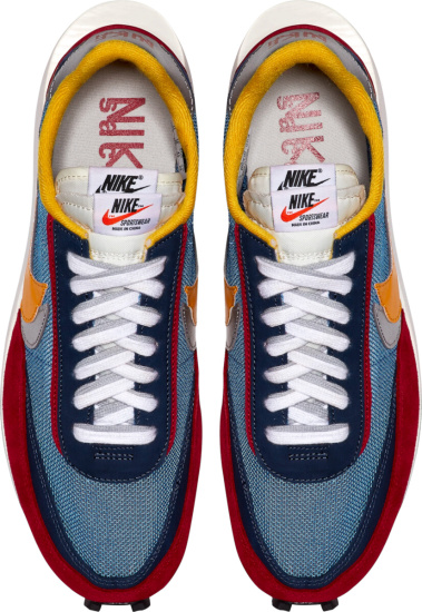 Nike Sacai Blue Red
