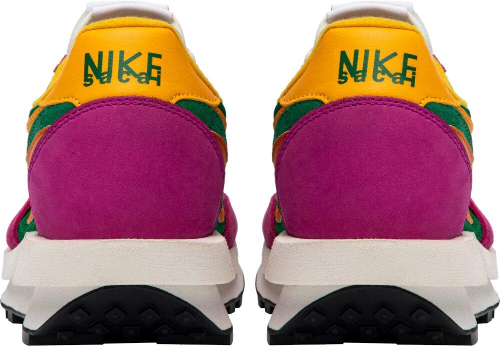 Nike Sacai Waffel Racers Pink Green