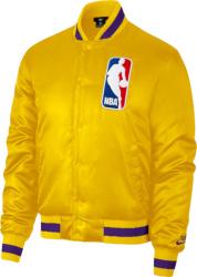 Nike Sb Yellow And Purple Nba Bomber Jacket