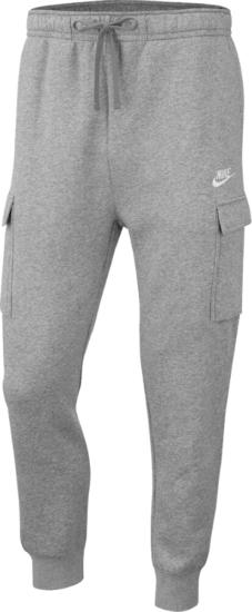 Nike Sportswear Grey Cargo Joggers