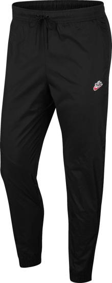 Nike Sportswear Heritage Black Track Pants Cq8916 010