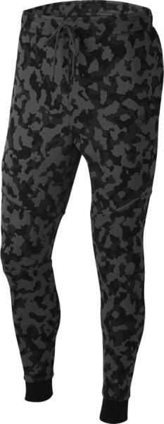 Nike Sportswear Tech Black Grey Camo Joggers