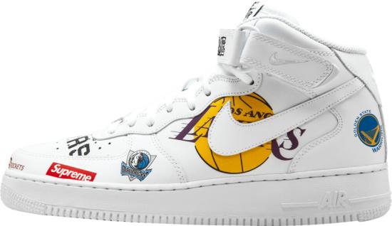 Nike Supreme Nba Print Sneakers