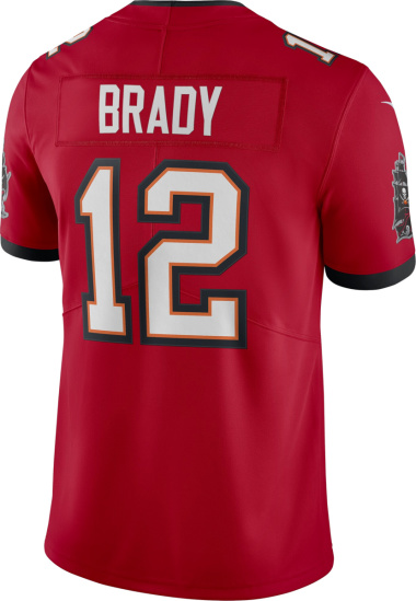 Nike Tampa Bay Buccaneers Red Brady Jersey