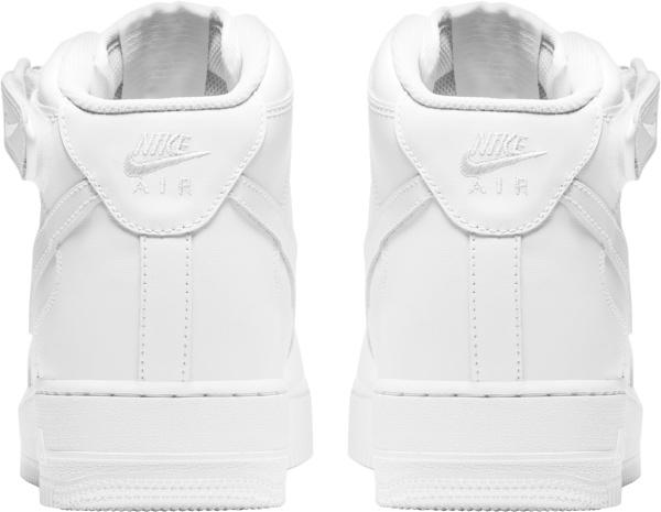 Nike Triple White Air Force 1 Mid Top Sneakers