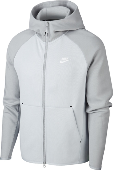 Nike Two Tone Grey Tech Hoodie Incorporated Style
