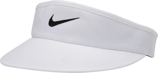 Nike White Core Golf Visor
