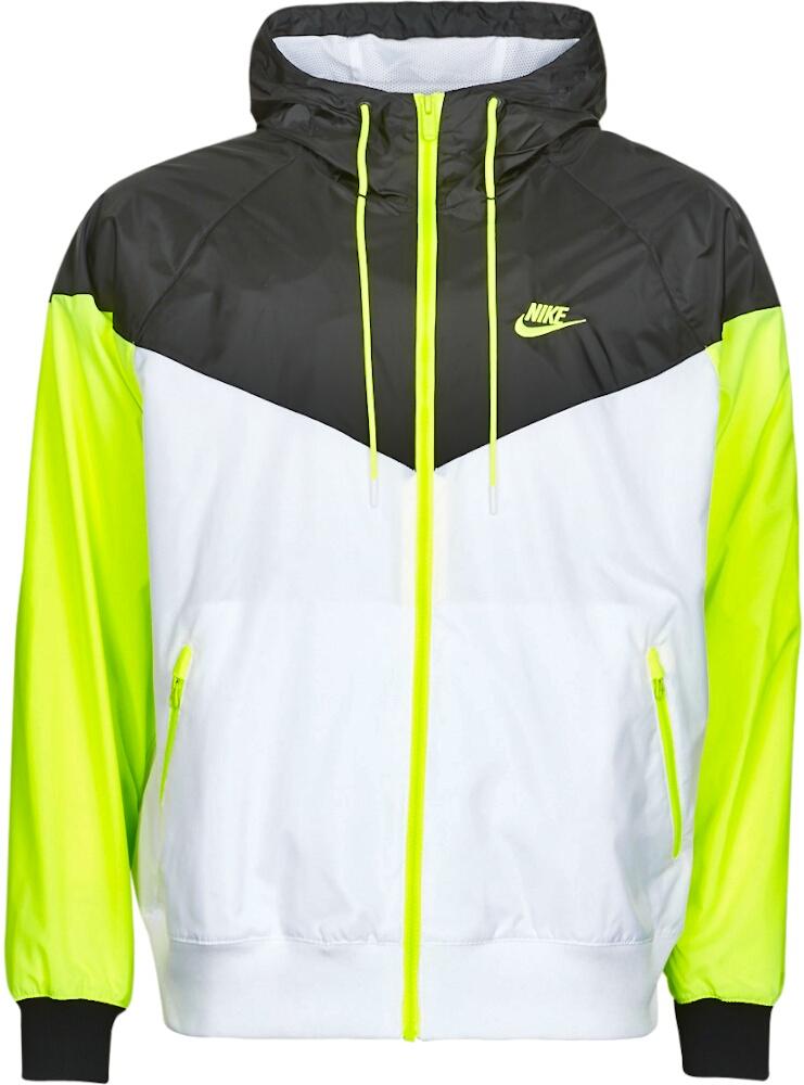Black, White & Volt 'Windrunner' Jacket