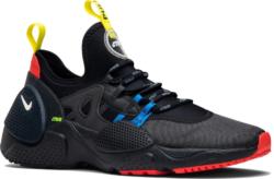 Nike X Heron Preston Huarache Edge Black Sneakers