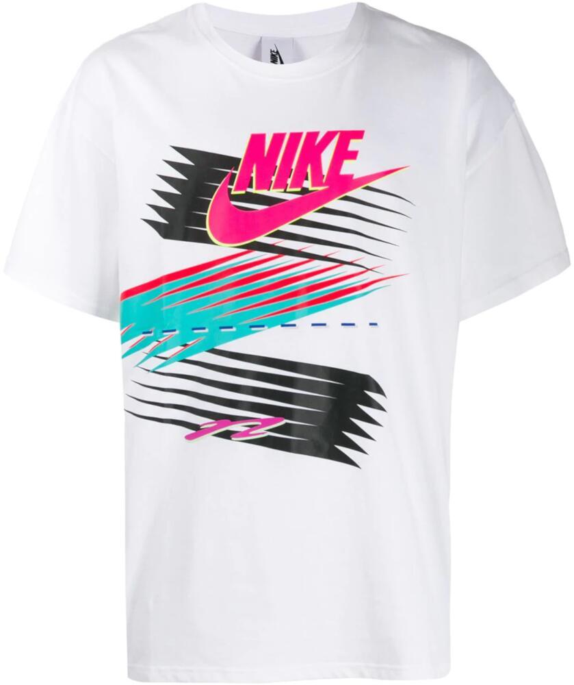 Nike X Atmos Printed White T Shirt
