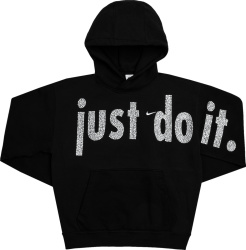 Nike X Cactus Plant Flea Market Black And Crytal Dust Do It Hoodie