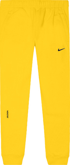 Nike X Drake Nocta Yellow Joggers