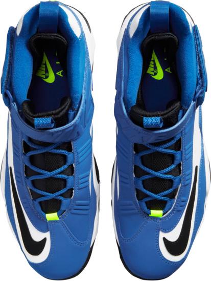 Nike X Ken Griffey Junion Blue White Black And Neon Green Sneakers