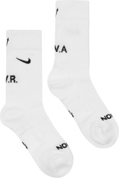 Nike X Nocta White Socks