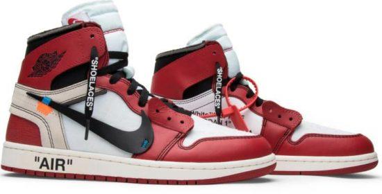 new product 2dde3 6c64d OFF-WHITE x Air Jordan 1 Retro High OG 'Chicago ...