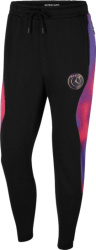 Nike X Psg Black And Purple Tie Dye Statement Joggers