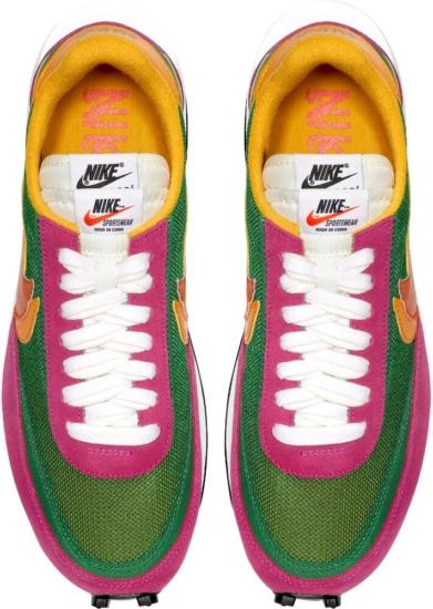 Nike X Sacai Green Waffle Racer