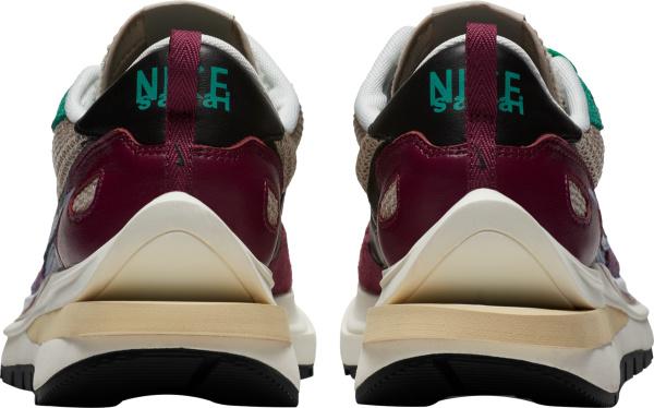 Nike X Sacai Grey Purple And Green Villian Sneakers