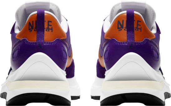 Nike X Sacai Vaporwaffle Purple Iris