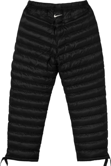 Nike X Stussy Black Pufer Pants