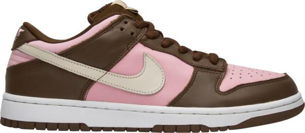 Nike X Stussy Dunk Low Pink Brown 304292 671