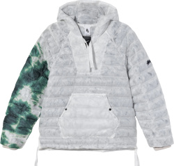 Nike X Stussy Grey Green Insulated Jacket