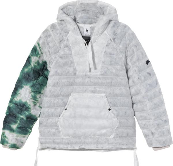 Nike X Stussy Grey Green Insulated Jacket